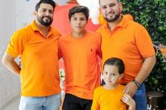 Geovanny Magalhães, Nichollas Magalhães, Rodrigo Ferreira e Rodrigo Júnior.