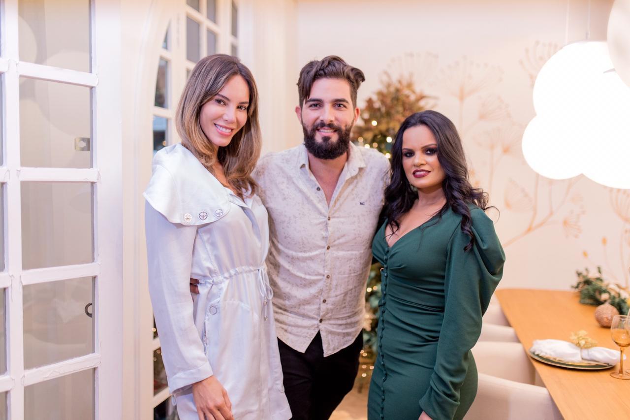 Larissa Andrade, Thiago Cazatto e Emília Motta