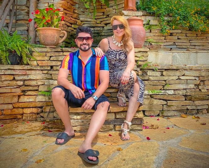 Romulo Diogo e Grace Carvalho