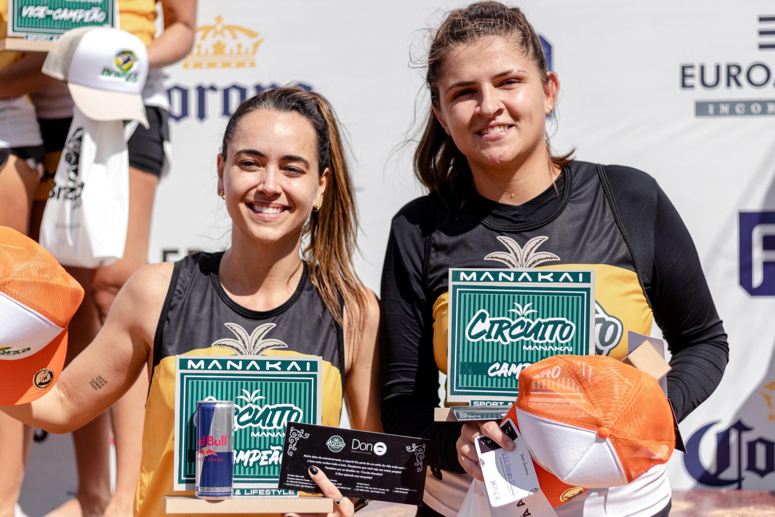 Isabela Garcia e Jessica Braz (1º lugar categoria avançado feminino)